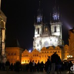 Old Town Square, Prague, Czech Republic, March 30th, 2014.