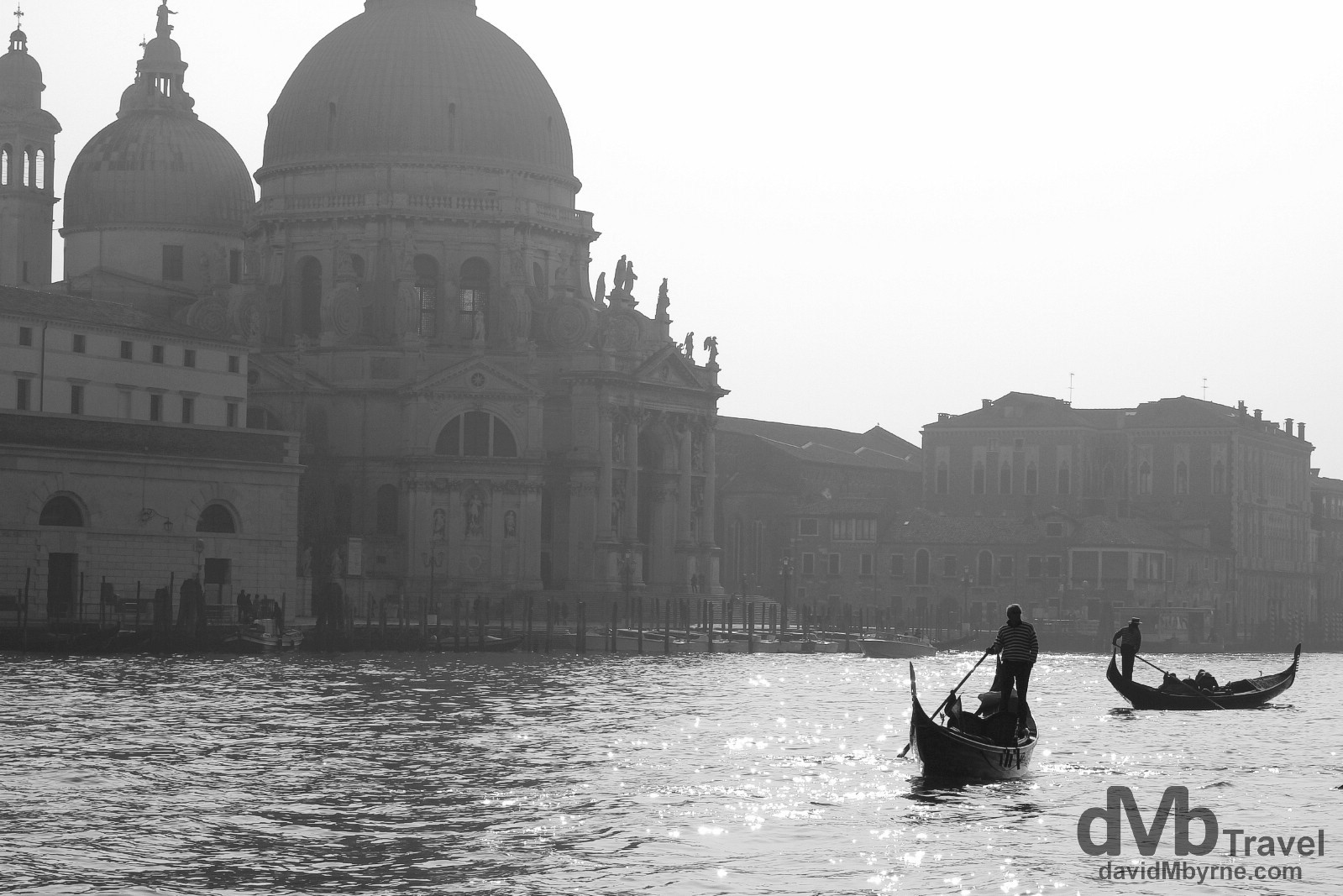 The Grand Canal, Venice, Italy. March 18th, 2014.