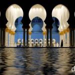The Sheikh Zayed Grand Mosque, Abu Dhabi, UAE. April 22nd, 2014.