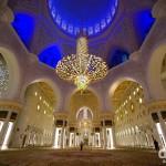 The Main Prayer Hall, Sheikh Zayed Grand Mosque, Abu Dhabi, UAE. April 22nd, 2014.