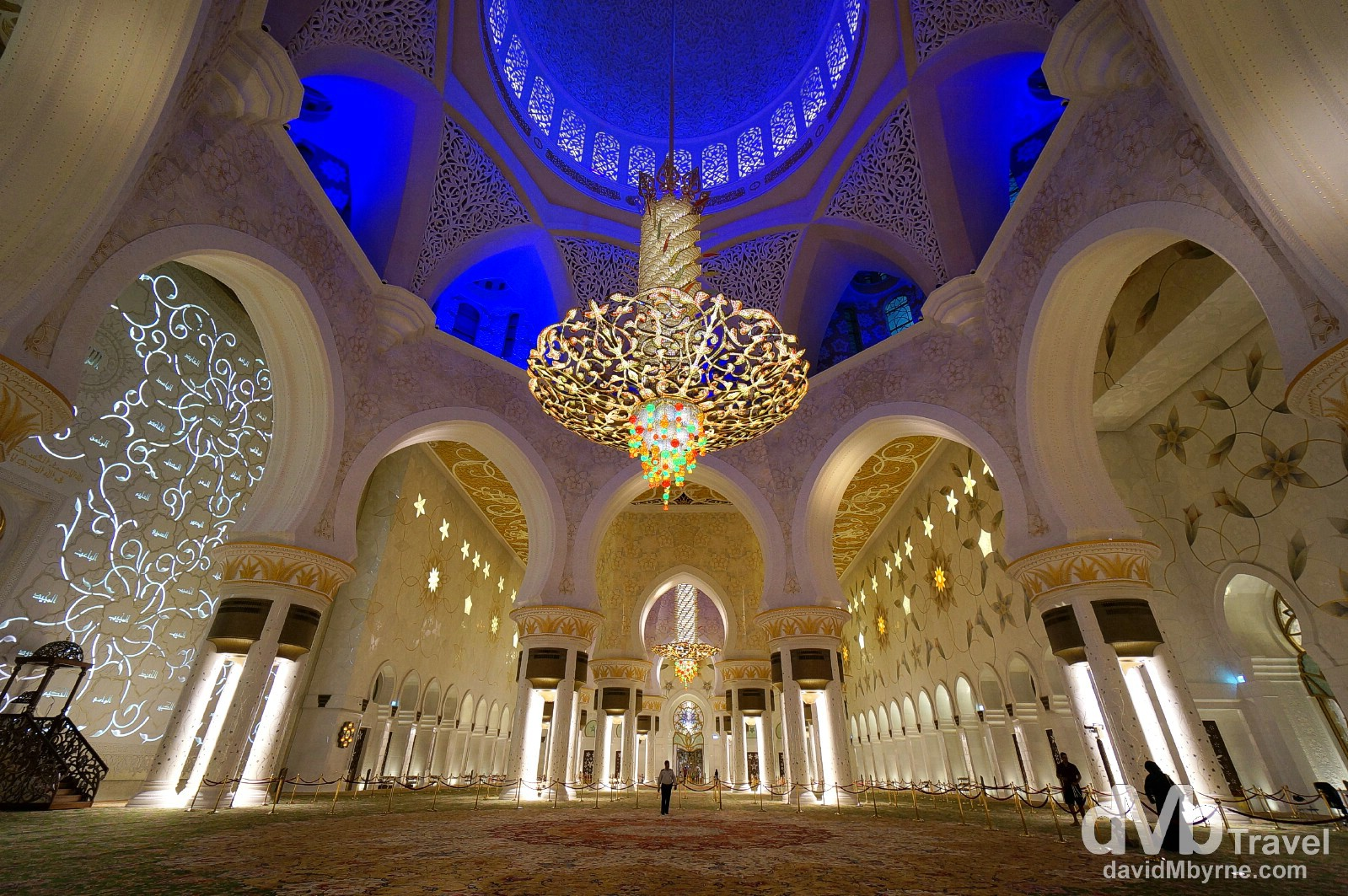 The Main Prayer Hall, Sheikh Zayed Grand Mosque, Abu Dhabi, UAE. April 22nd, 2014.