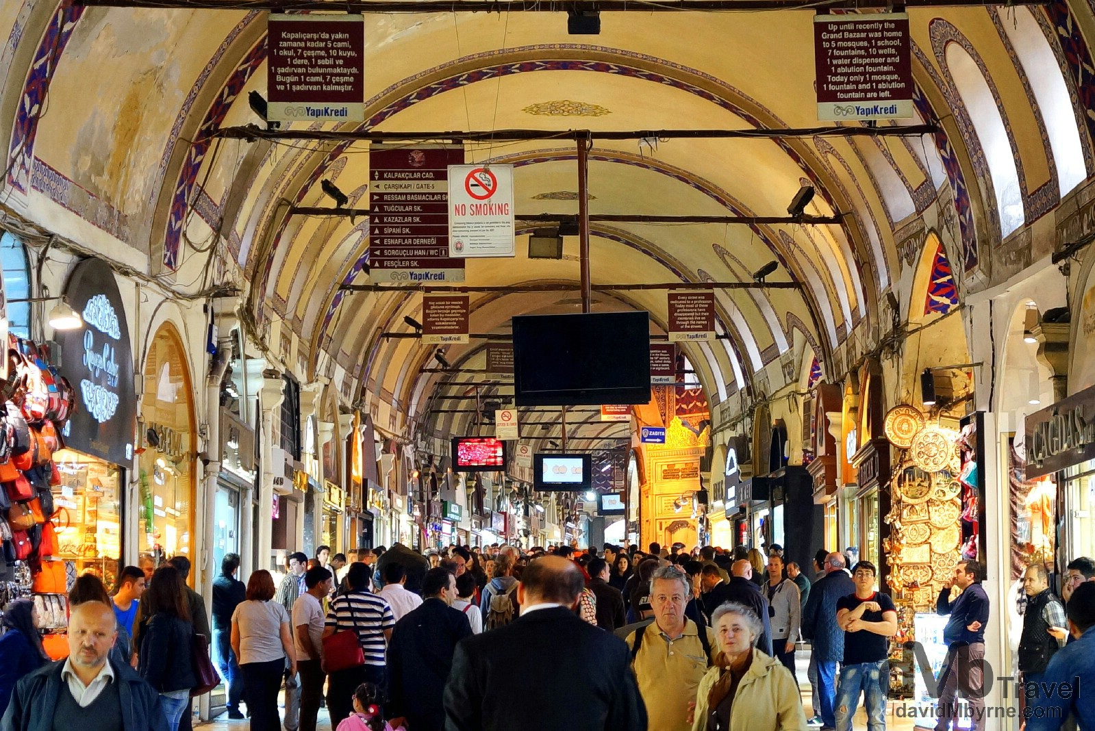 The Grand Bazaar, Istanbul, Turkey. April 10th, 2014.