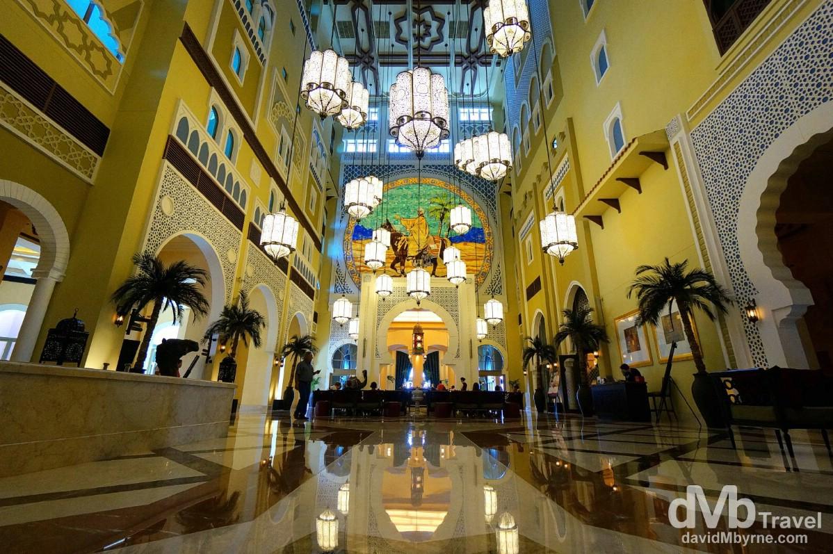 Hotel Ibn Battuta Gate, Dubai, UAE. April 18th, 2014.