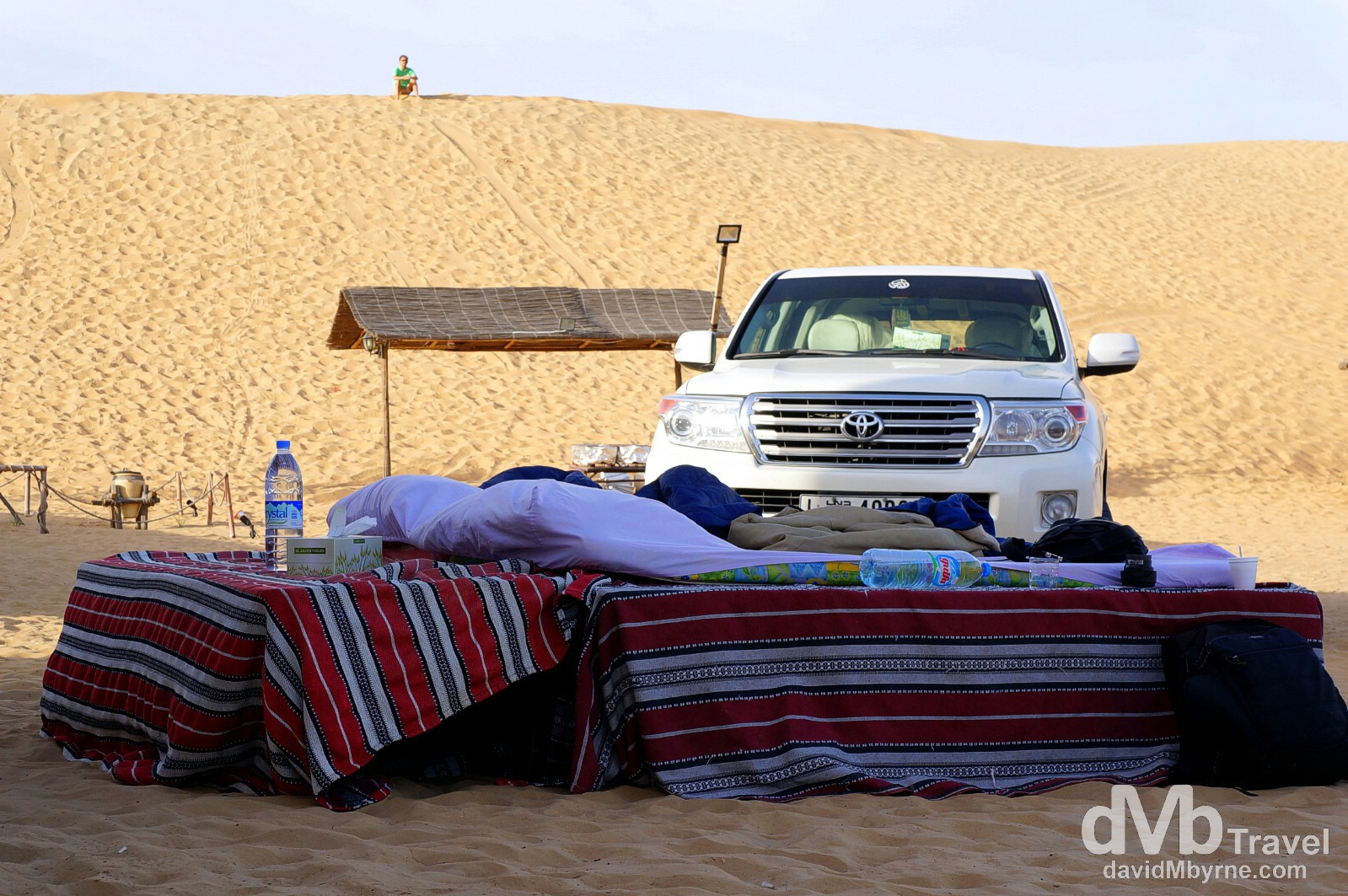 North Tours Desert Camp outside Dubai, UAE. April 18th, 2014.