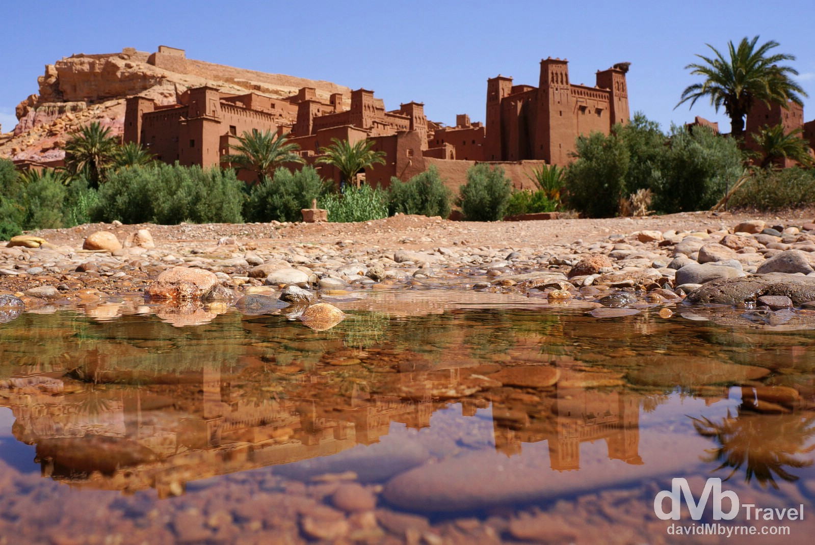 UNESCO-listed Ait Benhaddou in southern Morocco. May 14th, 2014.