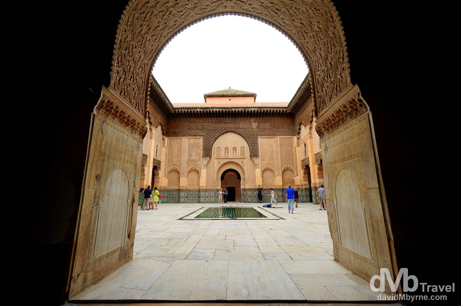 Ali ben Youssef Merdersa, Marrakesh, Morocco. May 6th, 2014.