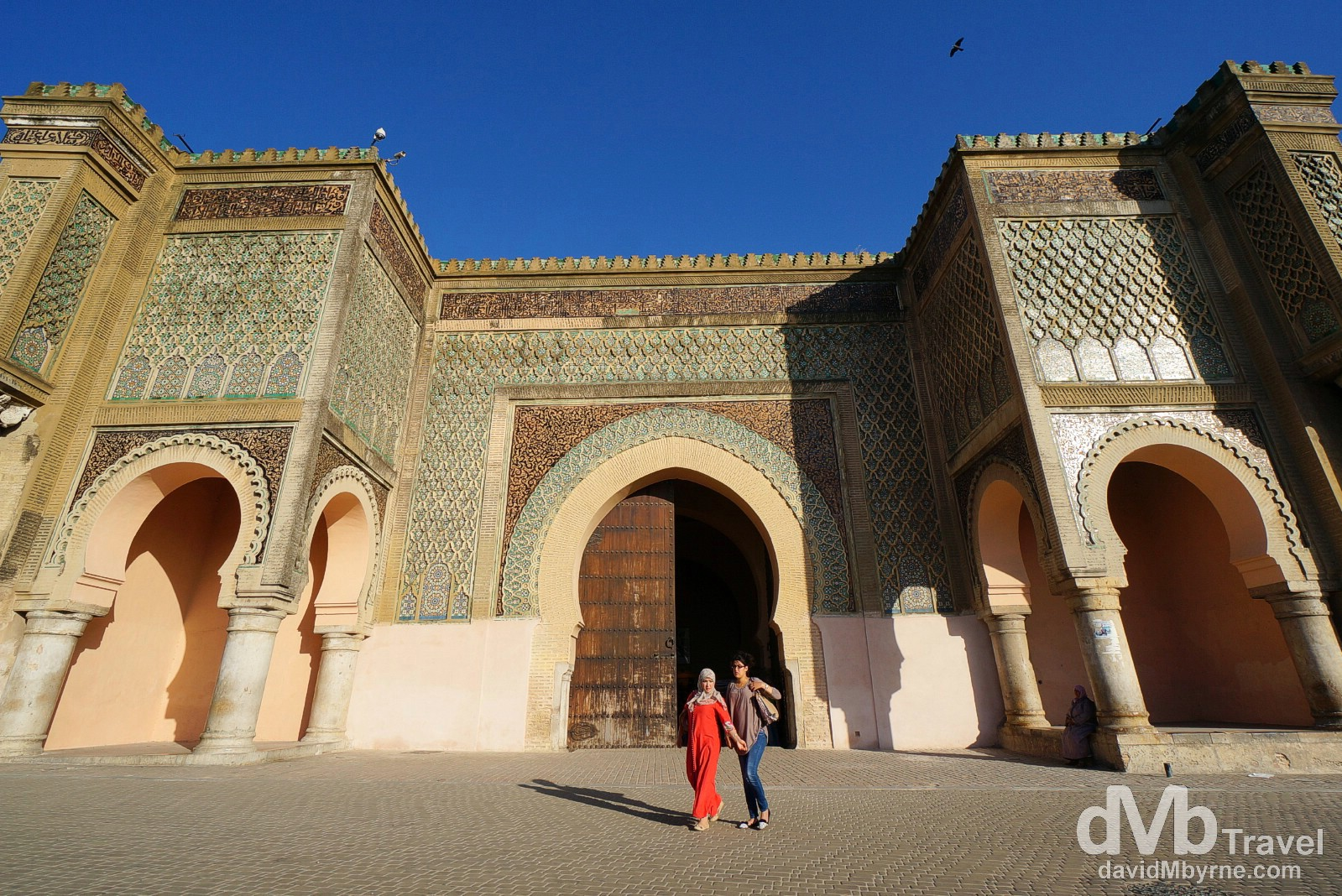 The gateway Bob Mansour in Meknes, Morocco. May 23rd, 2014.