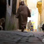 The medina in Essaouira, Morocco. May 4th, 2014.