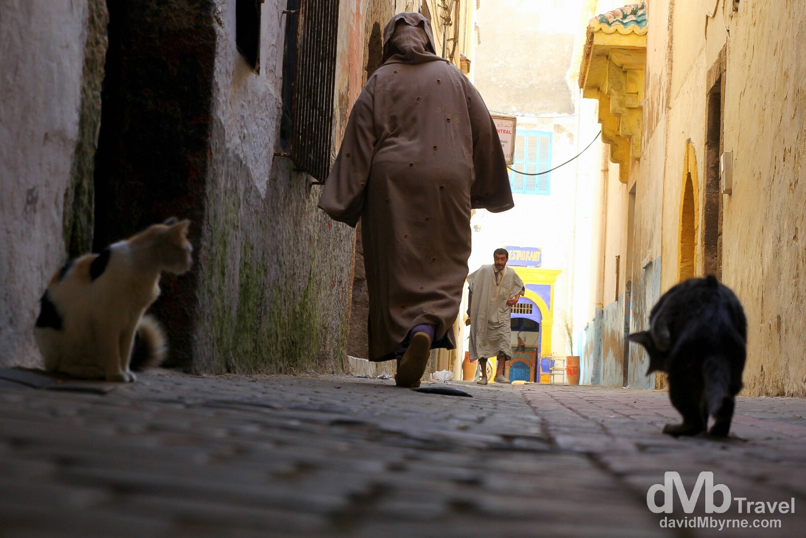 The medina in Essaouira, Morocco. May 4th, 2014.