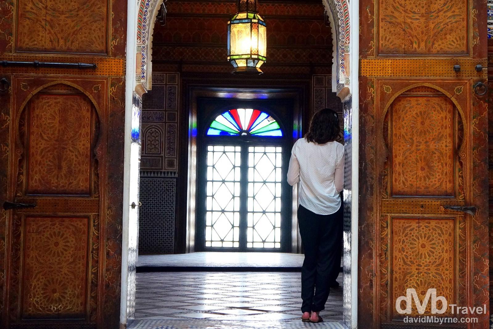 In the Dar Si Said, Marrakesh, Morocco. May 7th, 2014.