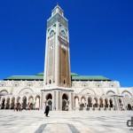 Hassan II Mosque, Casablanca, Morocco. April 28th, 2014.