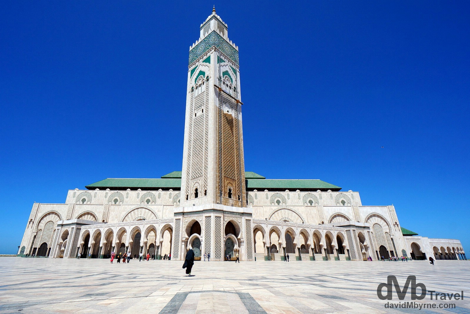 Hassan II Mosque, Casablanca, Morocco. April 28th, 2014.