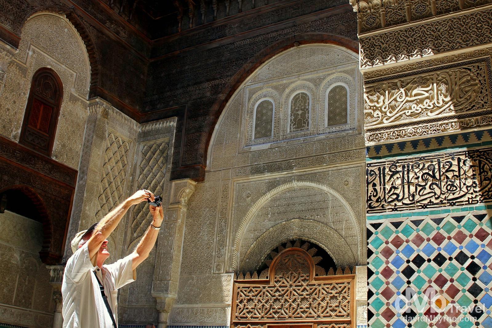 Medersa el Attarin, Fes, Morocco