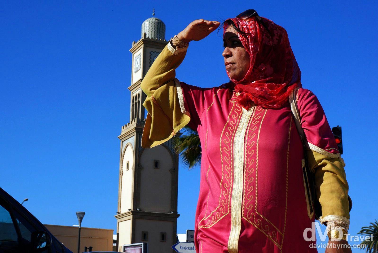 Place des Nations Unies, Casablanca, Morocco. April 28th, 2014.