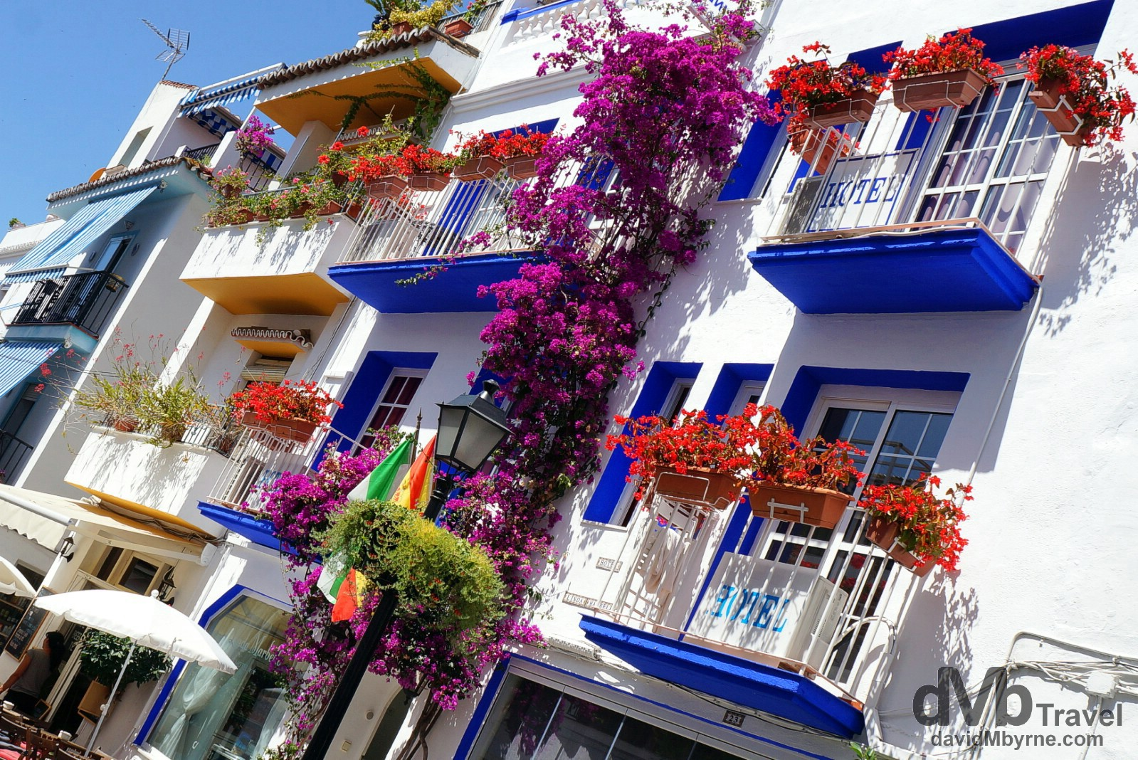 Calle Ancha, Marbella, Andalusia, Spain. June 7th, 2014.