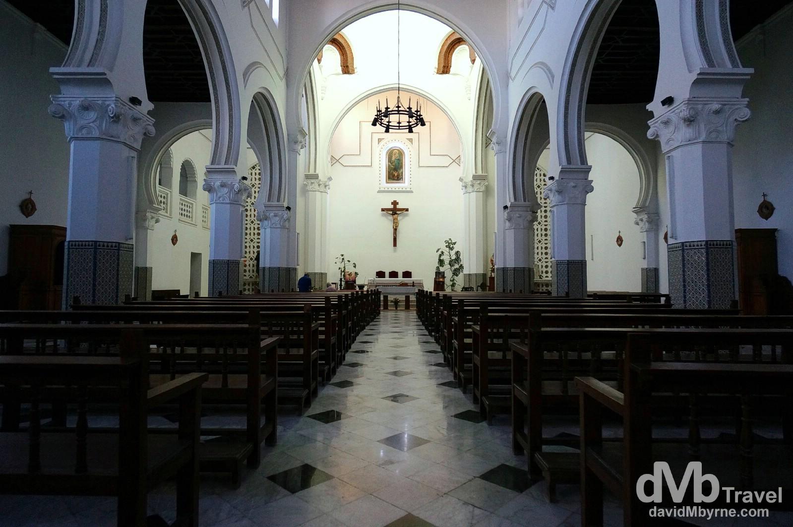 The 1917 Iglesia de Bacturia in Tetouan, Morocco. June 2nd, 2014.