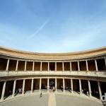 Palacio de Carlos V in the Alhambra in Granada, Andalusia, Spain. June 11th, 2014.
