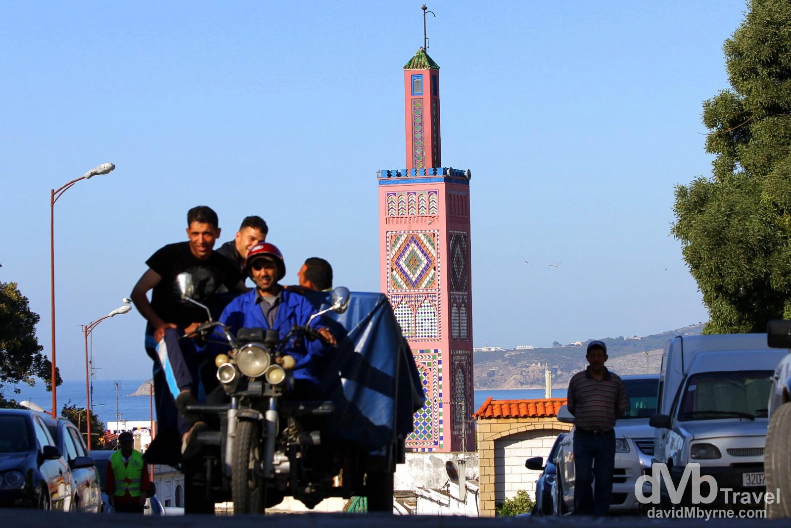 Rue Sidi Bouabid, Tangier, Morocco. June 3rd, 2014.