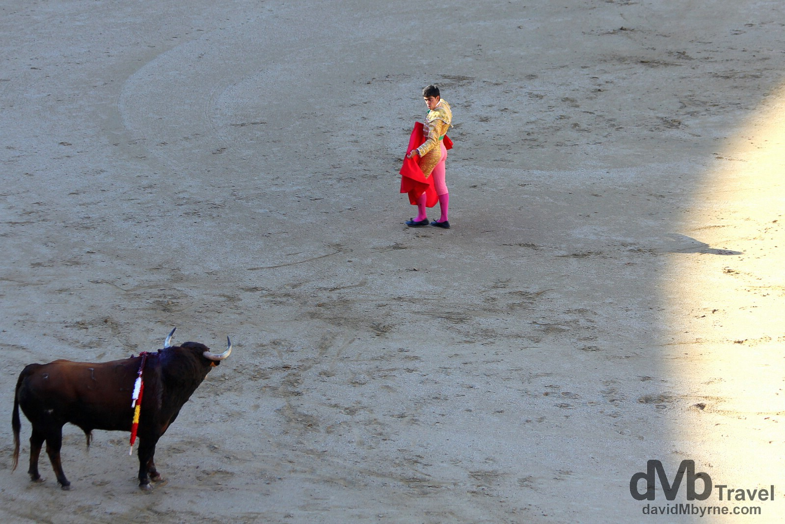 Bullfighting in Plaza de Toros, Las Ventas, Madrid, Spain. June 15th, 2014.