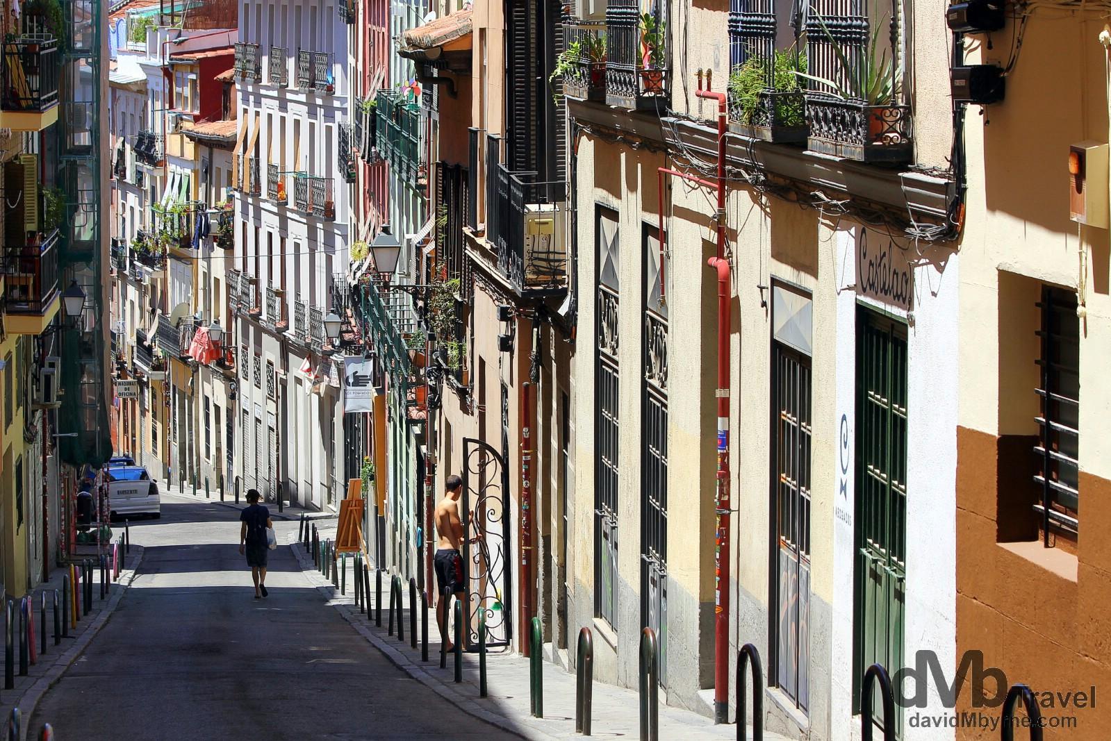 Calle de Buenavista, Madrid, Spain. June 14th, 2014.