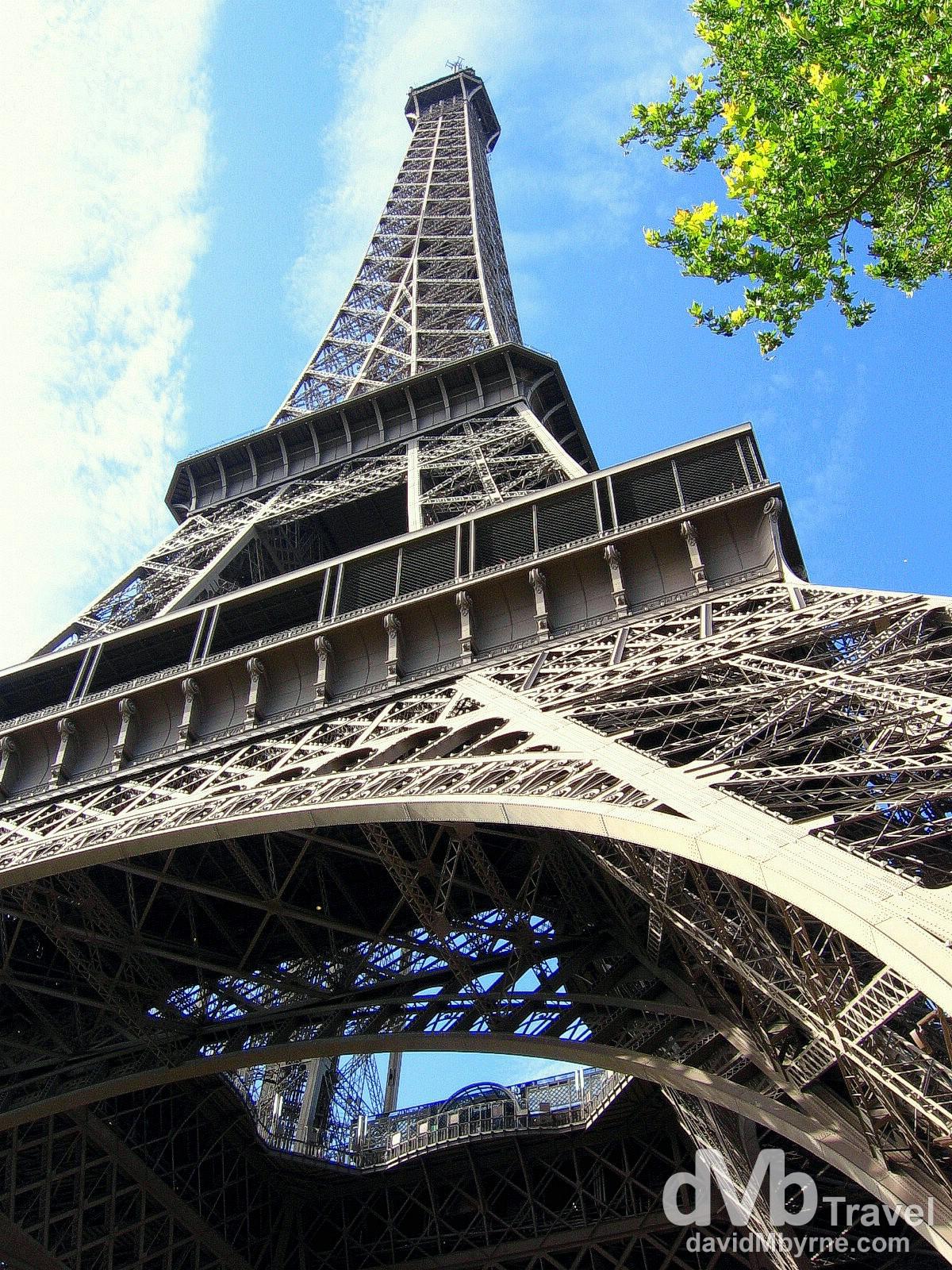 The Eiffel Tower, Paris, France. August 18th, 2007.