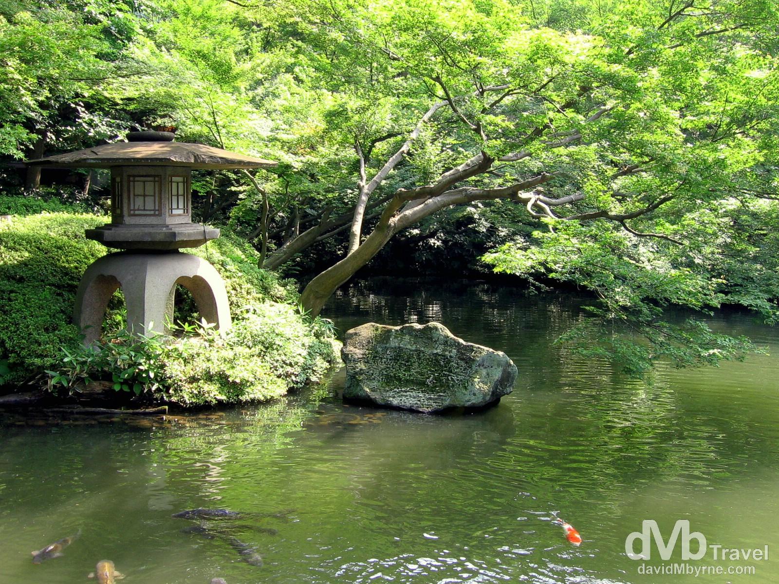 Happo-En Gardens, Tokyo, Japan. July 15th, 2005.