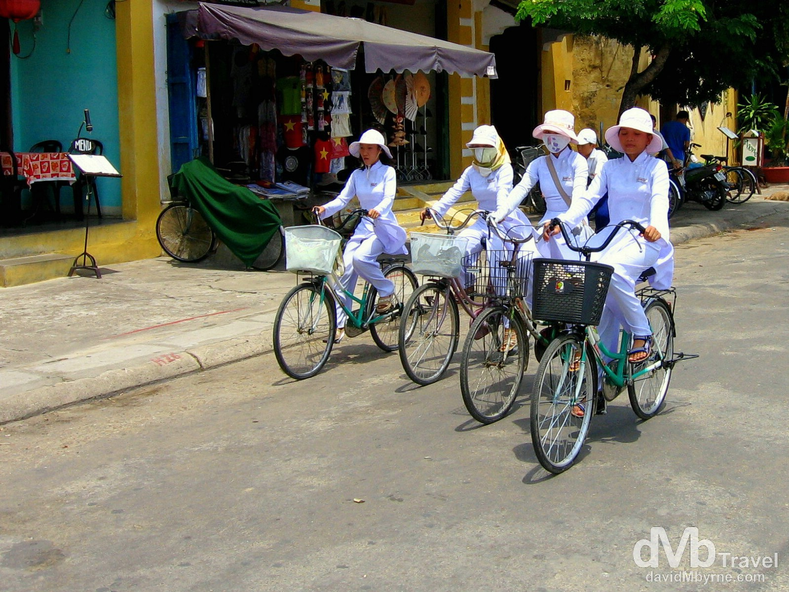 On the streets of Hoi An, Central Vietnam. September 10th, 2005.