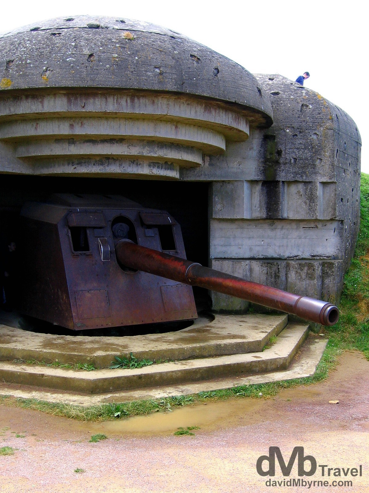 Longues Sur Mer, Normandy, France. August 16th, 2007.