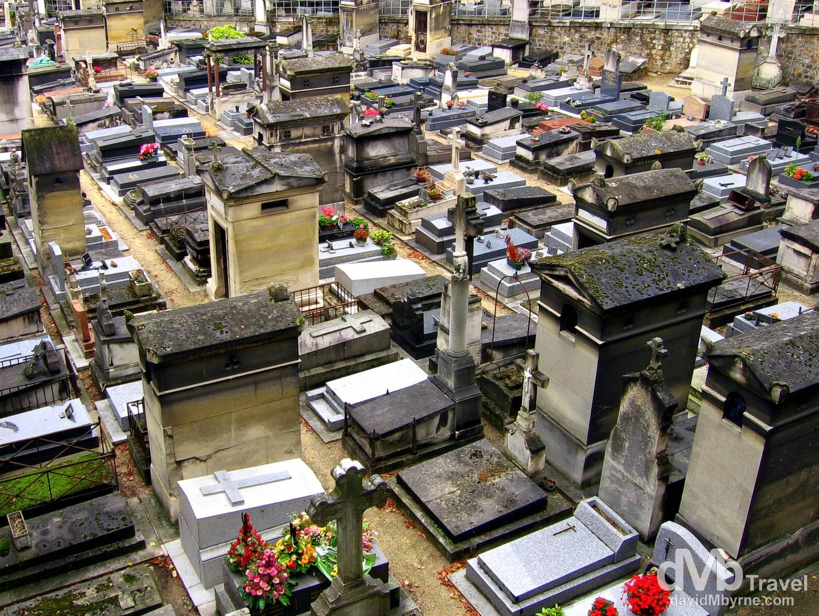 Montmartre Cemetery, Montmartre, Paris, France. August 20th, 2007.