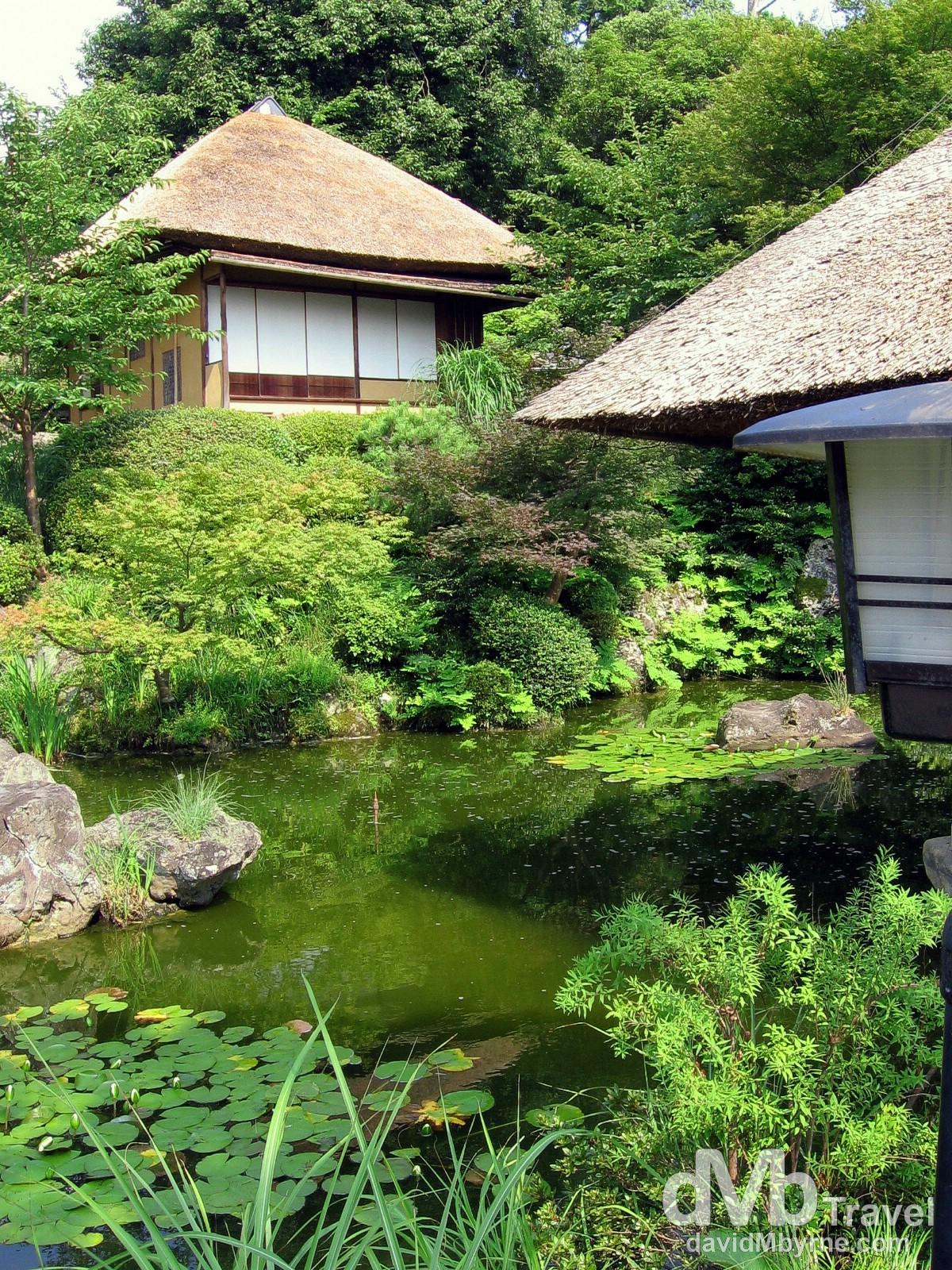 O-chaya (teahouses) in the Higashiyama district of Kyoto, Honshu, Japan. July 18th, 2005.