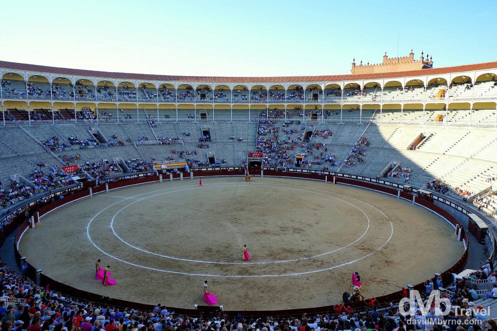 Plaza de Toros bullring, Las Ventas, Madrid, Spain. June 15th, 2014.