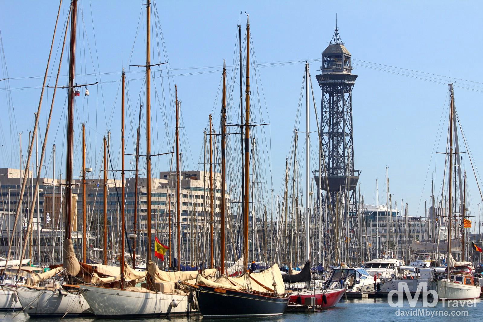 Port de Barcelona, Barcelona, Spain. June 16th, 2014.