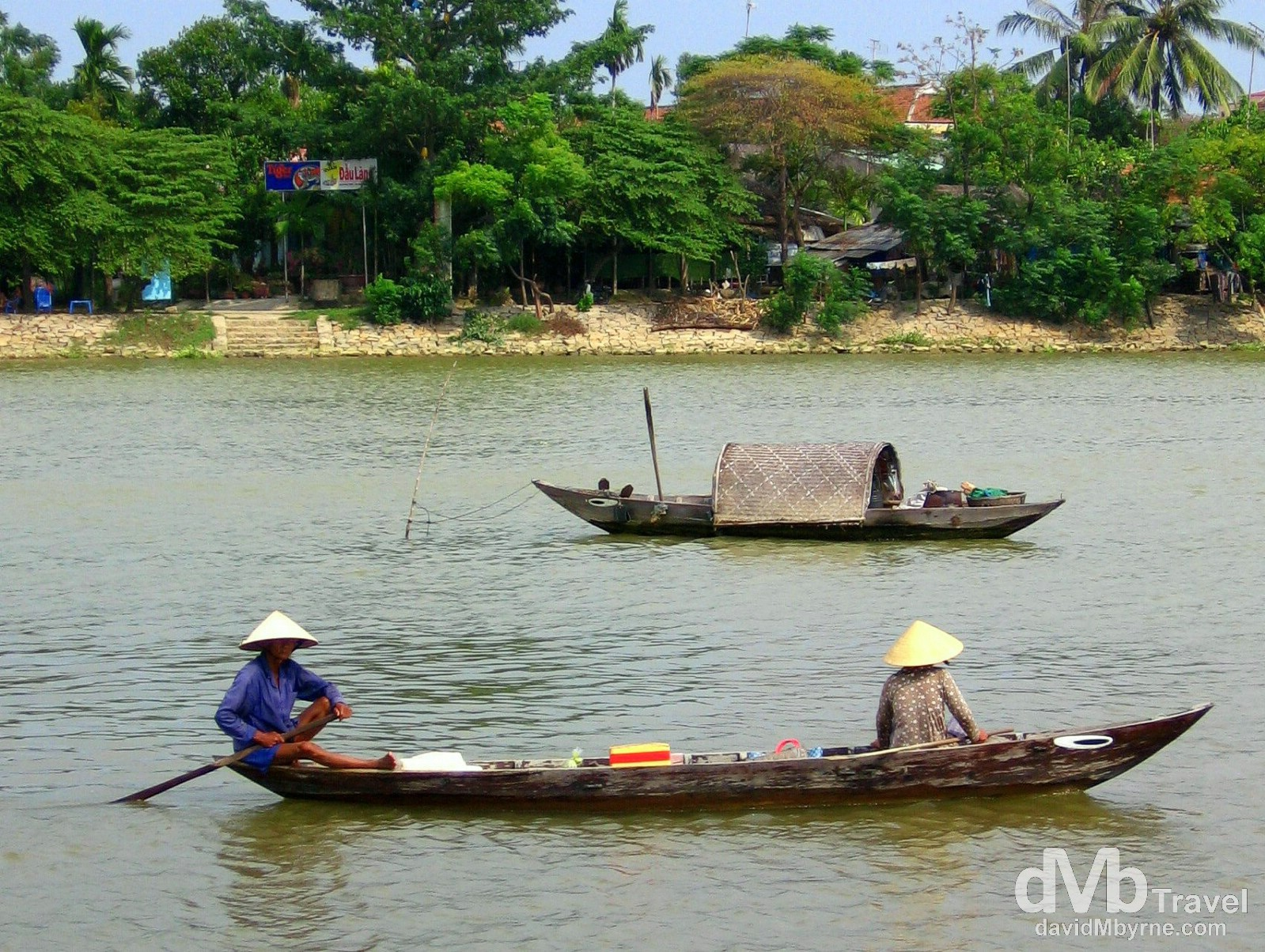 On the waterways of Hoi An, central Vietnam. September 11th, 2005.