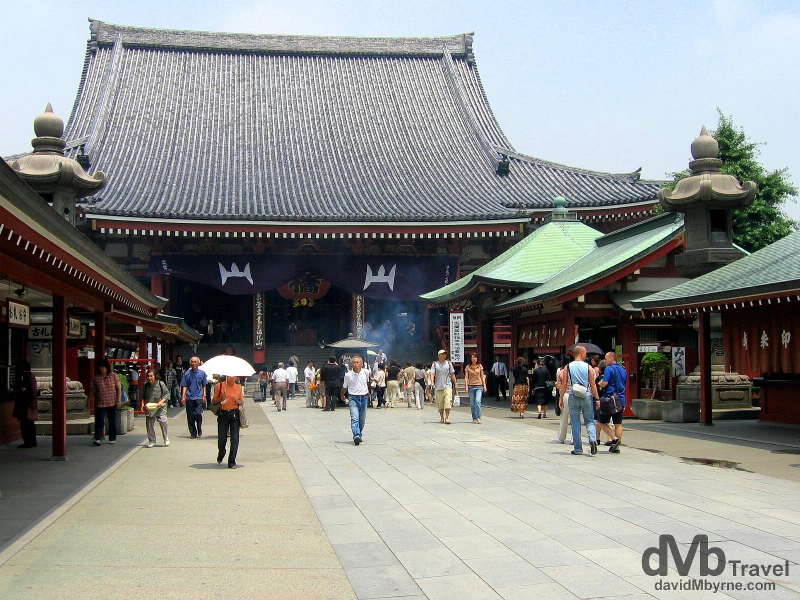 Senso Ji temple complex, Tokyo, Japan. July 15th, 2005.
