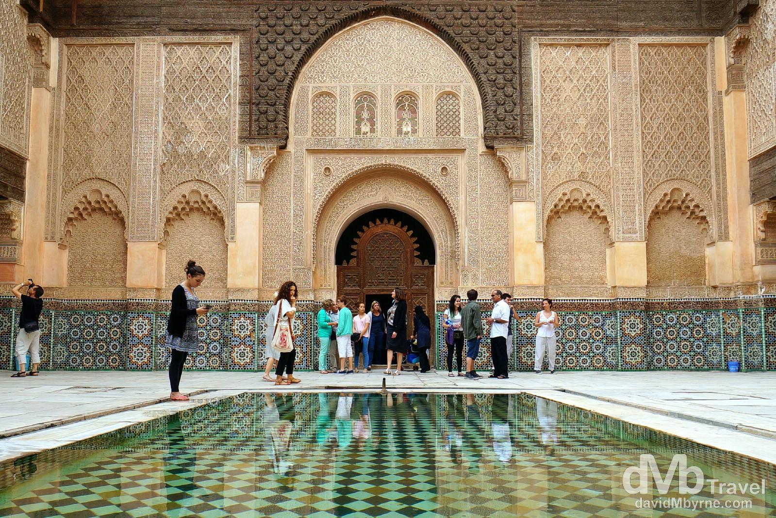 Ali ben Youssef Medersa, Marrakesh, Morocco. May 6th, 2014.