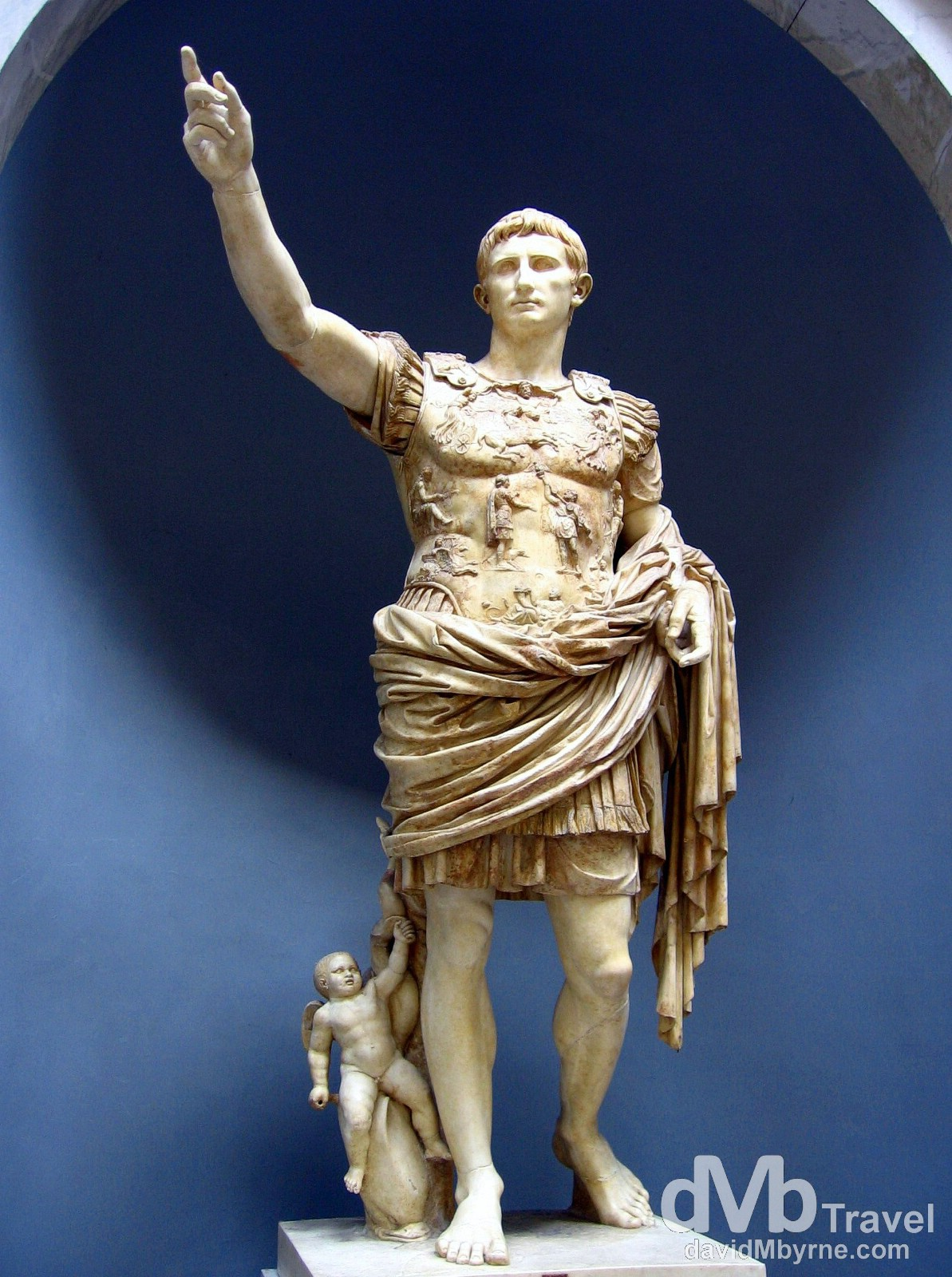 Augustus statue in the Vatican Museums, Vatican City. September 3rd, 2007.