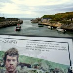 Ballintoy Harbour, aka Pyke Harbour in HBO's Game of Thrones, Causeway Coast, Northern Ireland. August 25, 2014.