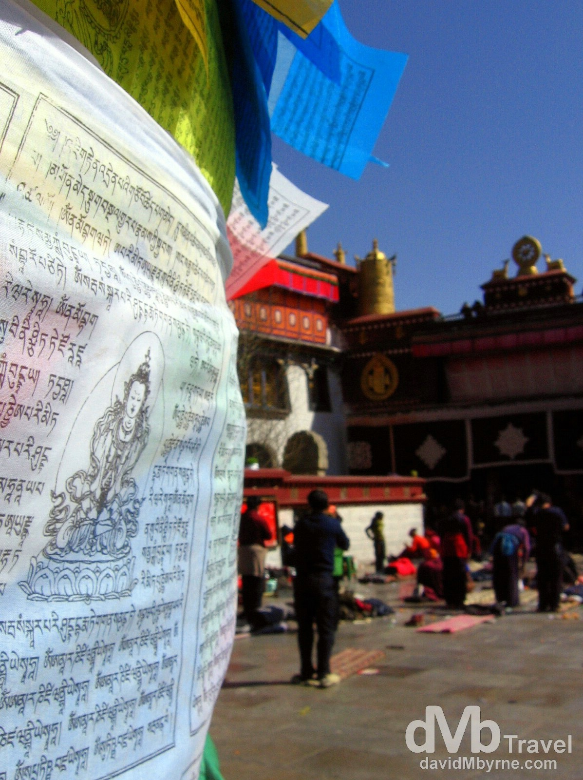 Barkhor Square, Lhasa, Tibet. February 25th, 2008.