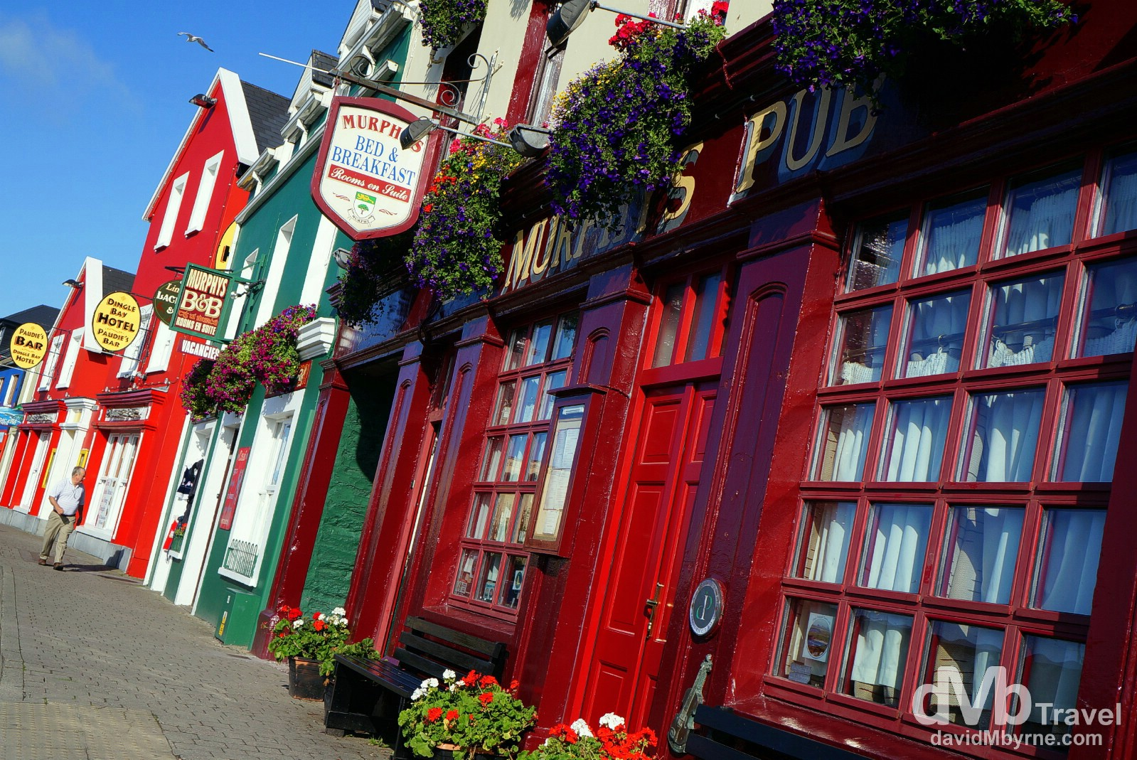 Strand Street, Dingle, Dingle Peninsula, Co. Kerry, Ireland. August 28, 2014.