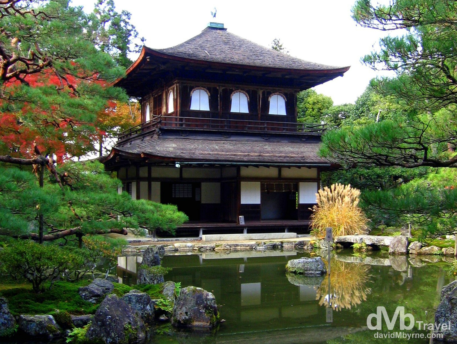 The Silver Pavilion, Ginkaku-ji Temple, Higashiyama-ku, Kyoto, Japan. November 20th, 2007.