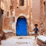 In the lanes of the Kasbah Taourirt in Ouarzazate, Morocco. May 13th, 2014.