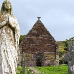 Kilmalkedar Church, Dingle Peninsula, Co. Kerry, Ireland. August 28, 2014.