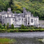 Kylemore Abbey, Connemara, Co. Galway, Ireland. August 26, 2014.