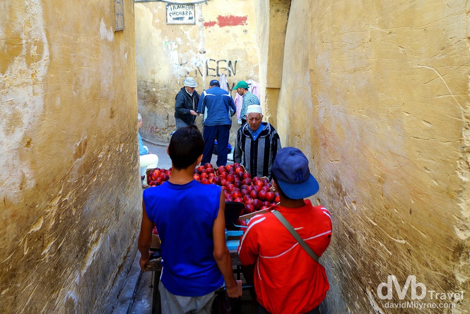 Derb Mechattin, Fes, Morocco