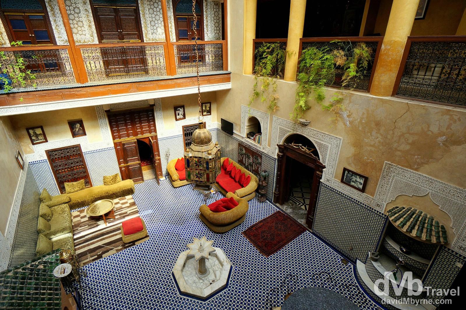 Riad Amlal, Marrakesh, Morocco. May 5th, 2014.