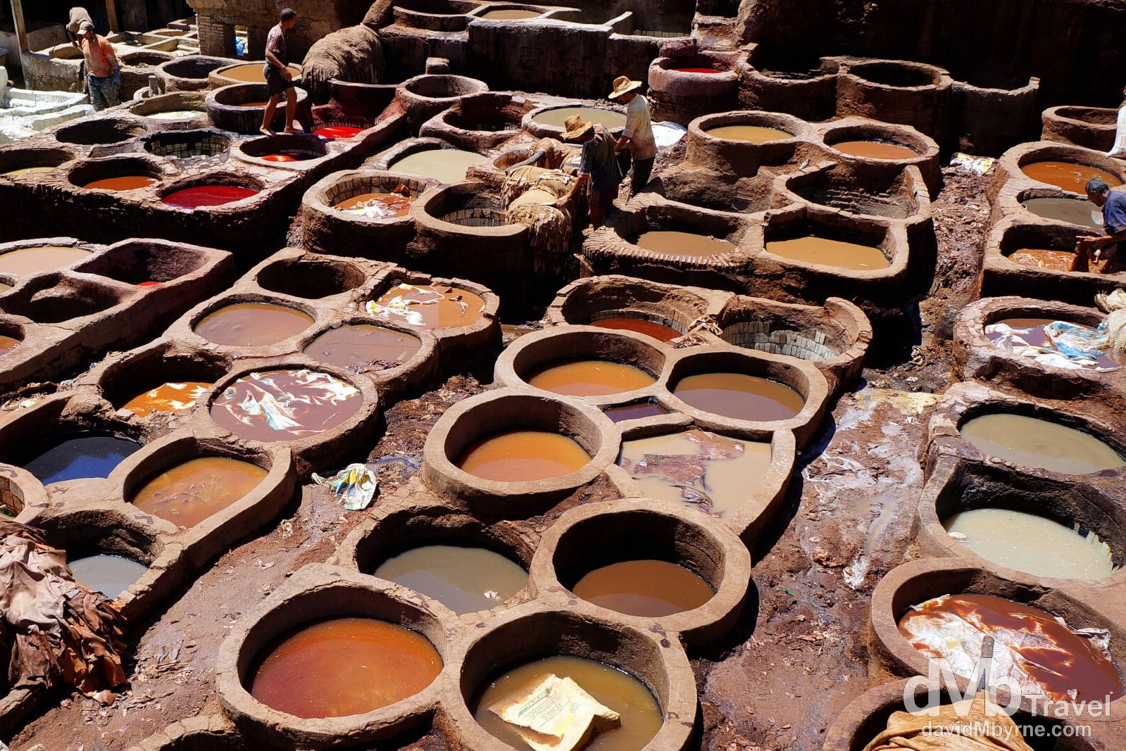 Tanneries Chouwara, Fes, Morocco