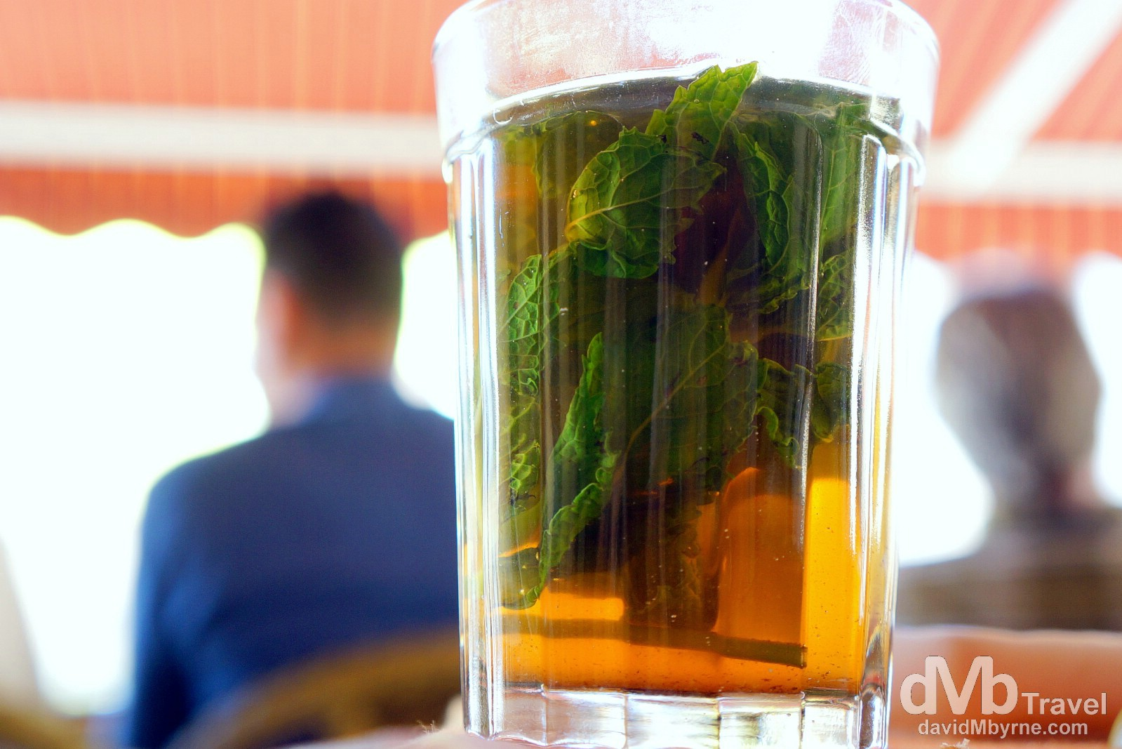 Mint tea, aka Moroccan Whiskey, Fes, Morocco. May 27th, 2014.