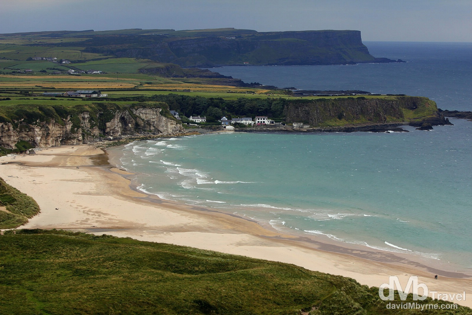White Park Bay, Causeway Coast, Co. Antrim. Northern Ireland