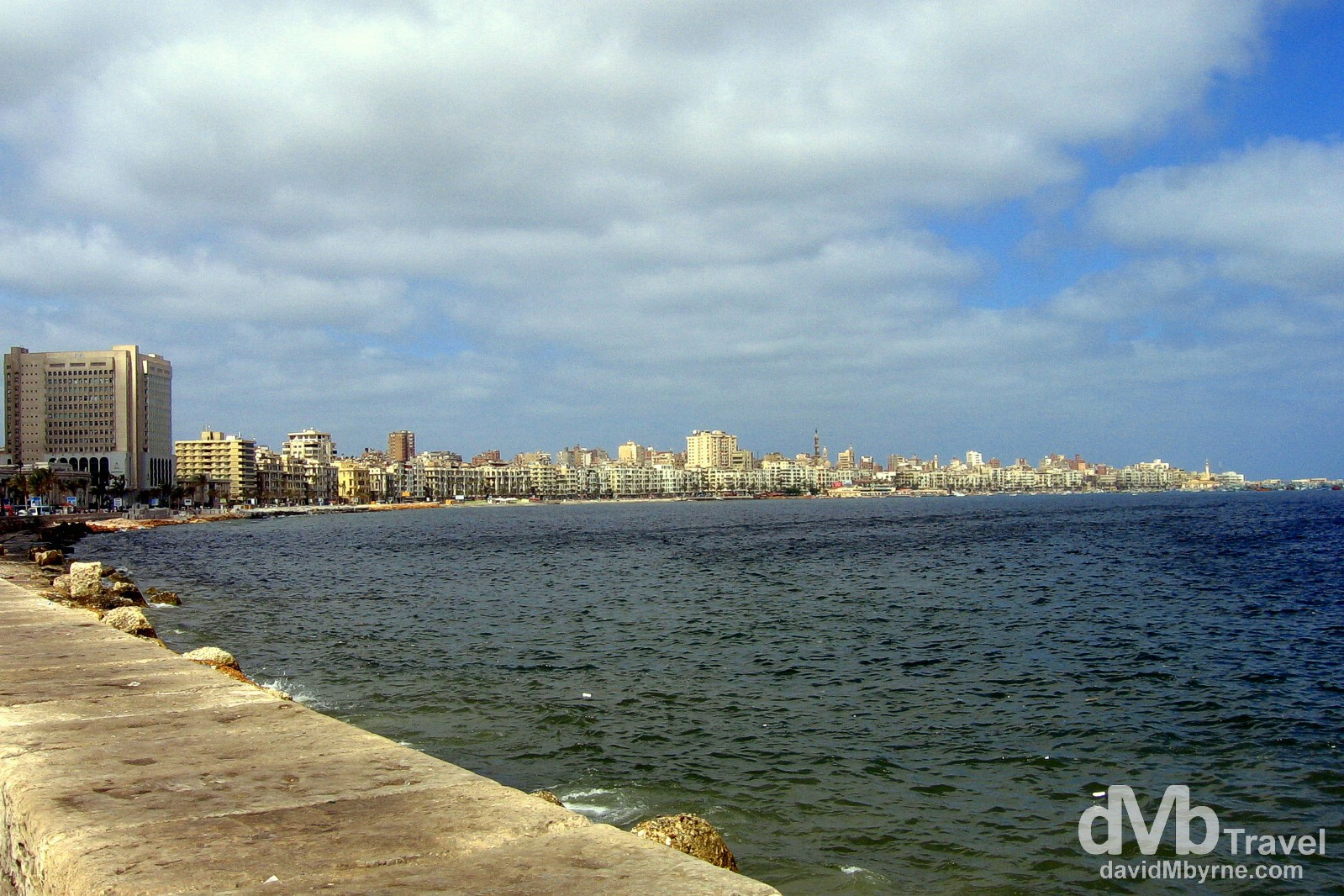 Alexandria, Egypt. April 16, 2008.