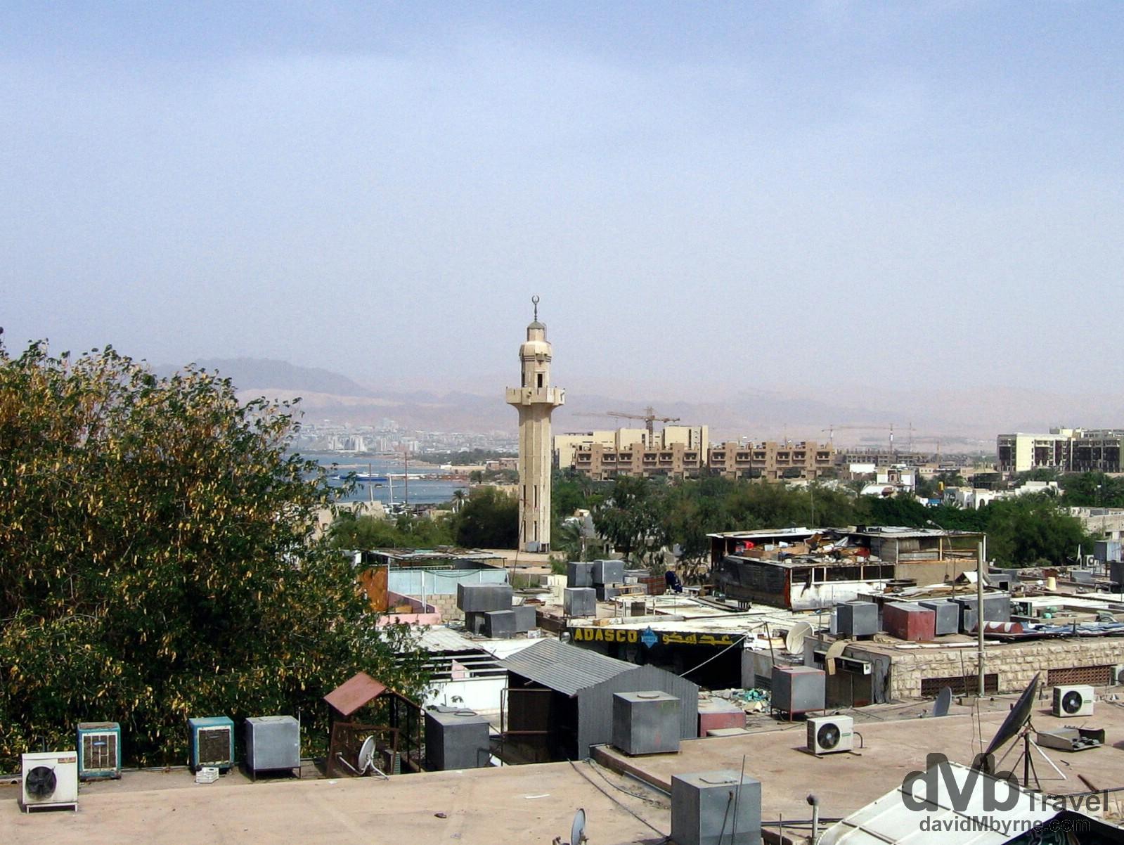 Aqaba, Jordan. April 25, 2008.